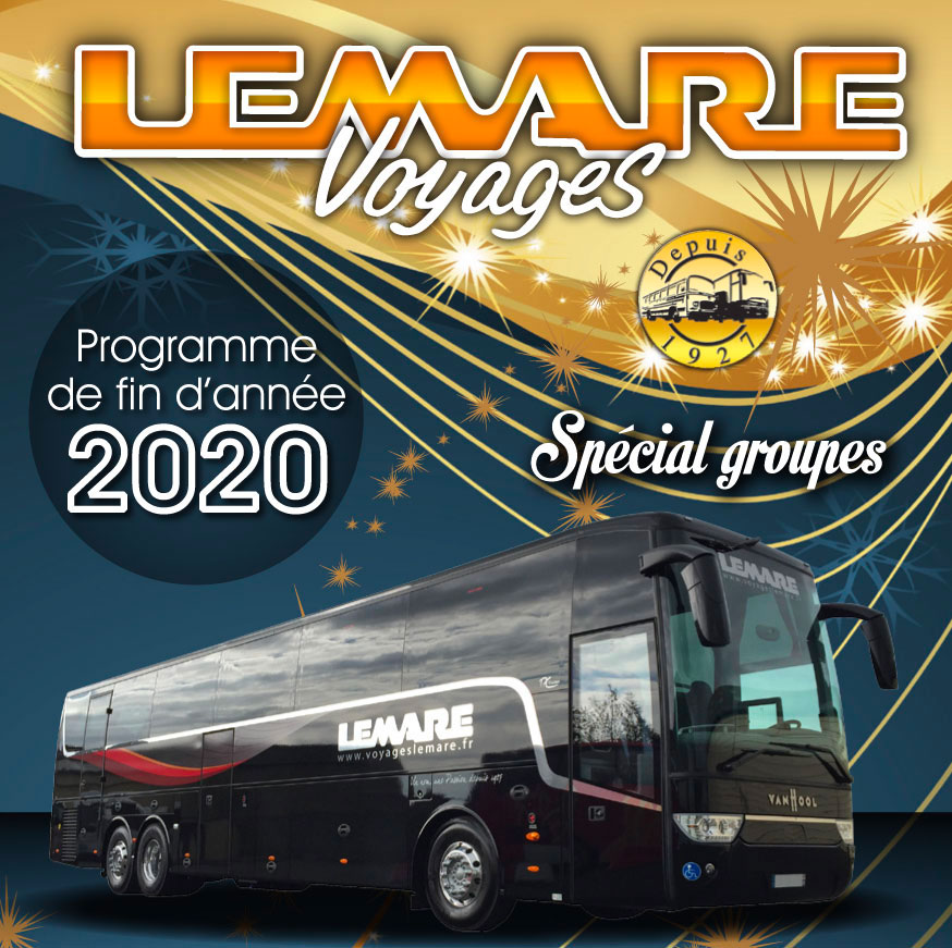 Voyages LEMARE couverture sorties noël